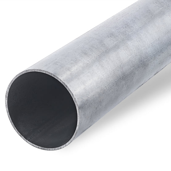 4000mm long galvanised steel post.  89mm diameter  Product Code: 60356