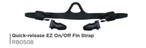 Quick-Release EZ On/Off Fin Strap RB0508