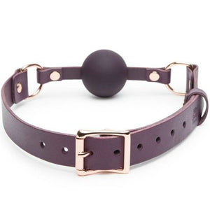 FIFTY SHADES FREED LEATHER BALL GAG
