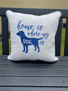 "Peak Season 18"" Throw Pillow"