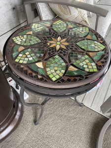 "Neville Olson 18"" Round Side Table"
