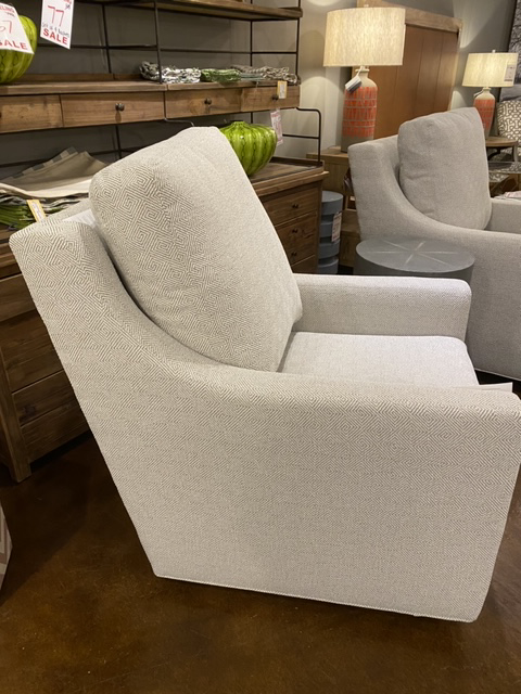 Swivel Glider in Performance Fabric