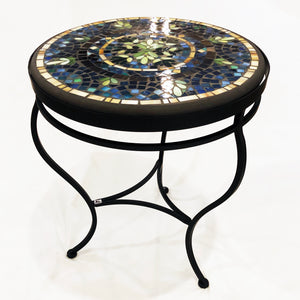 "18"" Lake Como Mosaic Table"