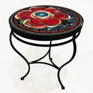 "18"" Zinnia Mosaic Table"