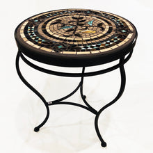 "Load image into Gallery viewer, 18"" Provence Mosaic Table"