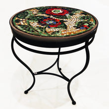 "Load image into Gallery viewer, 24"" Dahlia Mosaic Table"