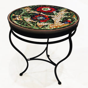 "24"" Dahlia Mosaic Table"