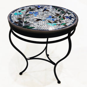 "24"" Royal Hummingbird Mosaic Table"