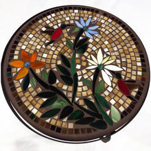 "Load image into Gallery viewer, 18"" Carmel Hummingbird Mosaic Table"