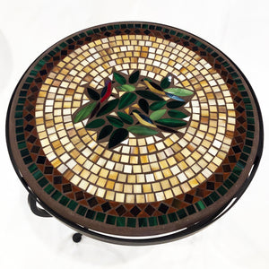 "18"" Finch Mosaic Table"