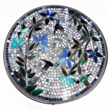 "Load image into Gallery viewer, 24"" Royal Hummingbird Mosaic Table"