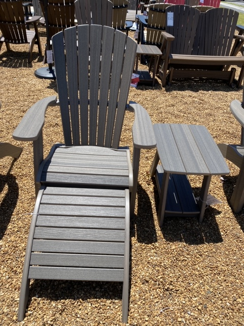 Ottoman for Raised Height Adirondack Chair