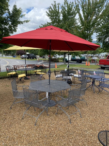 Woodard Outdoor Seven Piece Seating Group