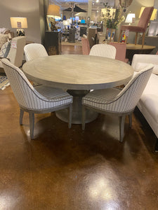 "40"" Table with Four Dining Chairs"