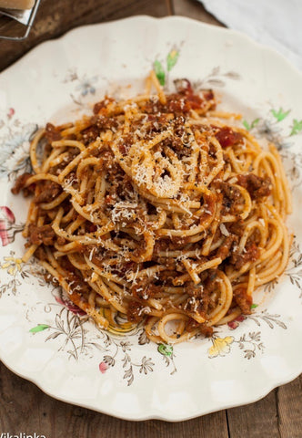 TRADITIONAL RAGU SPAGHETTI BOLOGNESE BY BARBETTA ($10PP)*