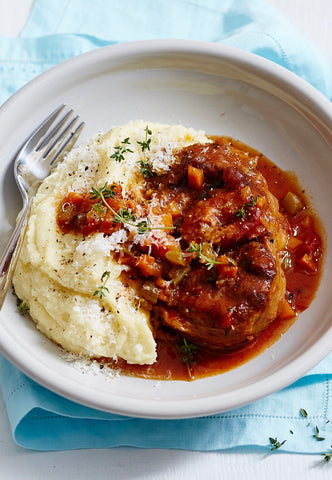 BEEF OSSO BUCCO WITH MASH POTATO ($13PP)