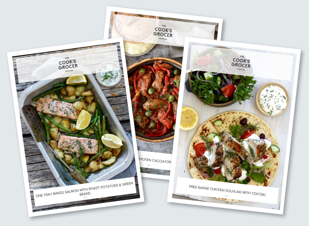 Food box delivery the cooks grocer new chef designed recipes every week forumfinder Image collections
