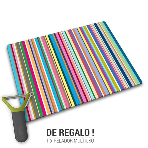 Tabla de vidrio para corte Worktop Saver + Gift
