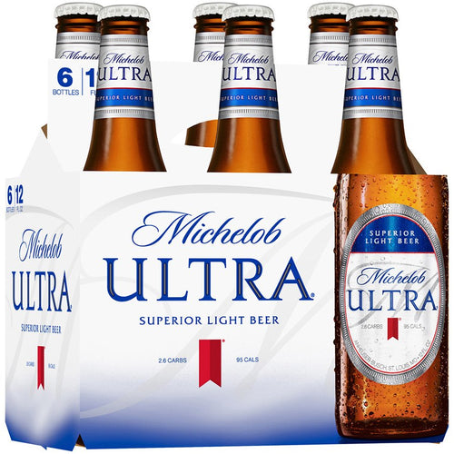 Michelob Ultra Superior Light Lager - Grapes & Hops Deli