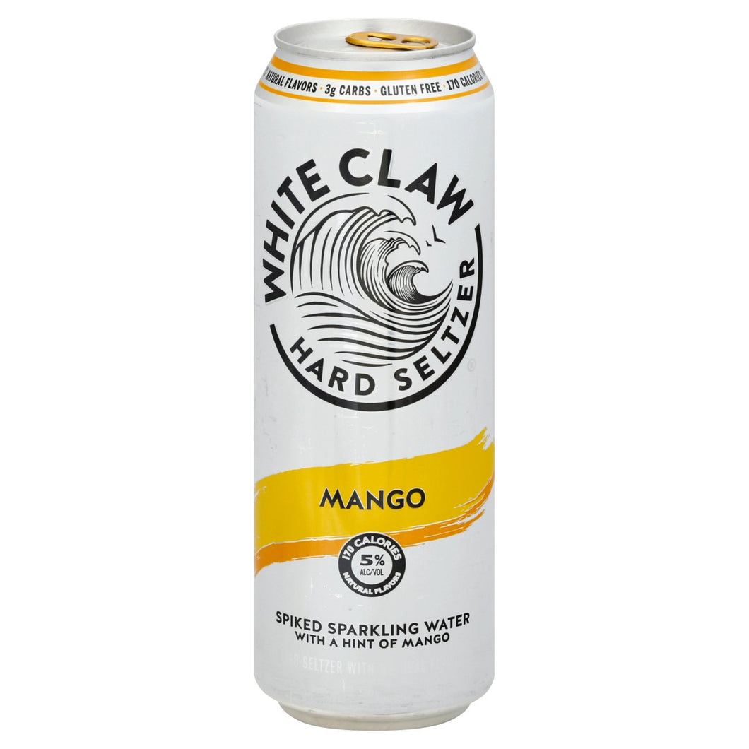 White Claw Hard Seltzer Mango - Grapes & Hops Deli
