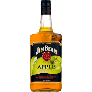 Jim Beam Apple Liquor With Kentucky Straight Bourbon Whiskey - Grapes & Hops Deli