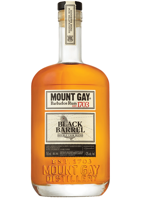Mount Gay Black Barrel Rum Double Cask Blend