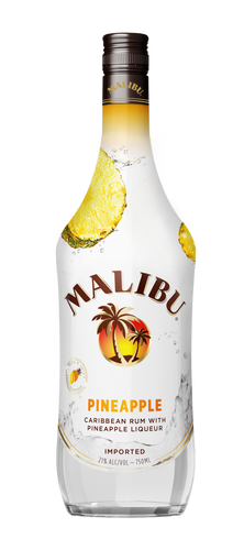 Malibu Pineapple Rum - Grapes & Hops Deli