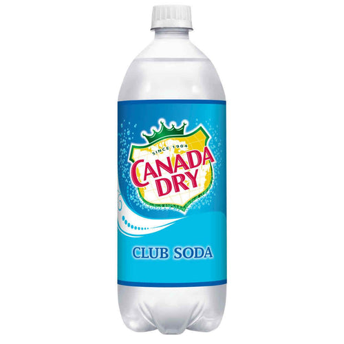 Canada Dry Club Soda 1L - Grapes & Hops Deli