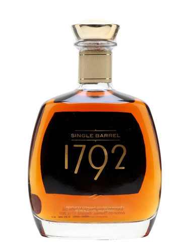 1792 Single Barrel Kentucky Straight Bourbon Whiskey (98.6 Proof) - Grapes & Hops Deli