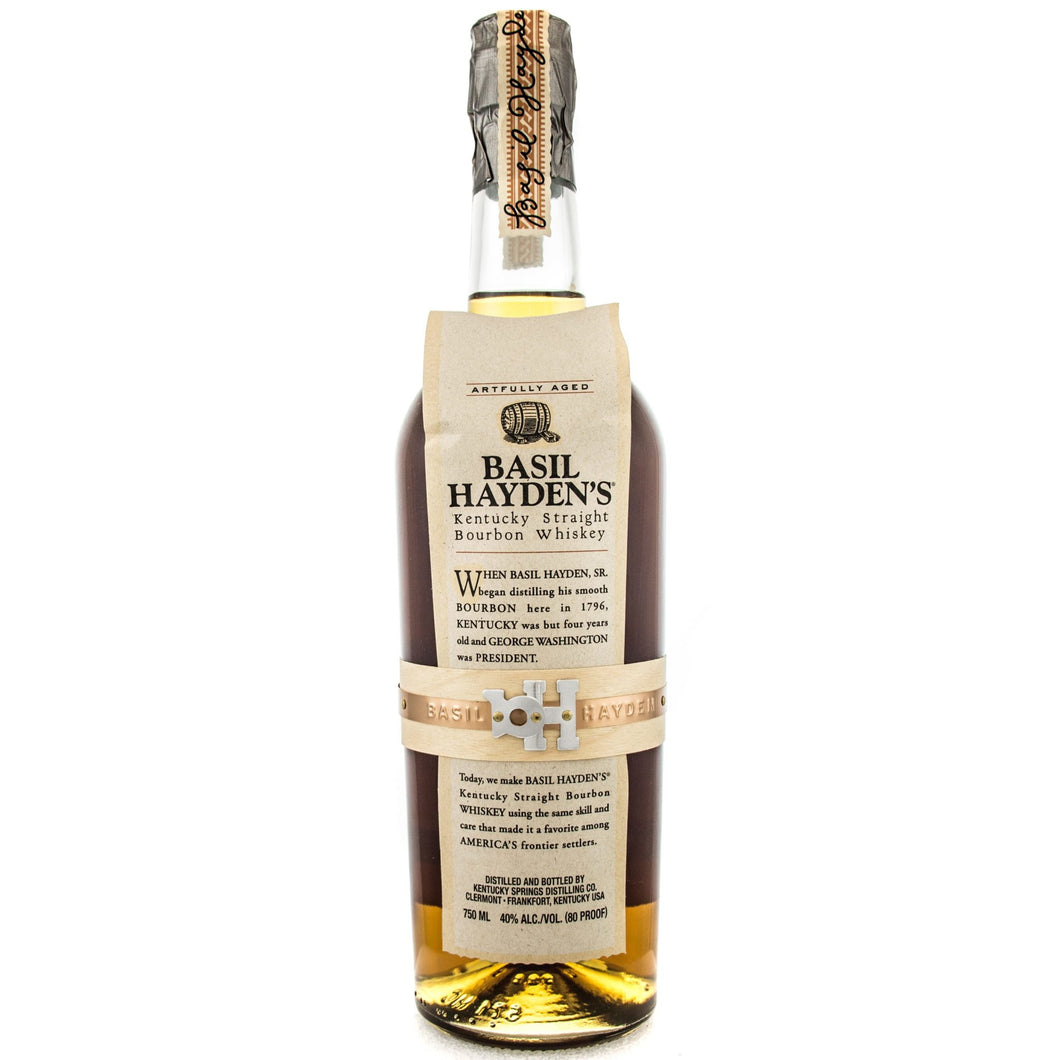 Basil Hayden's Kentucky Straight Bourbon Whiskey - Grapes & Hops Deli