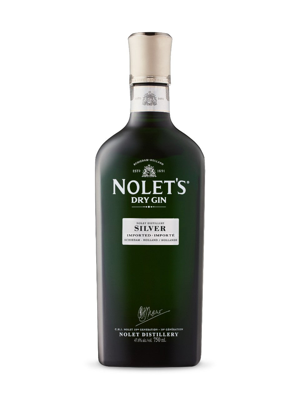 Nolet's Silver Dry Gin - Grapes & Hops Deli