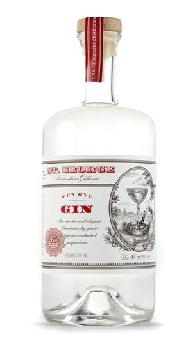 St George Dry Rye Gin - Grapes & Hops Deli