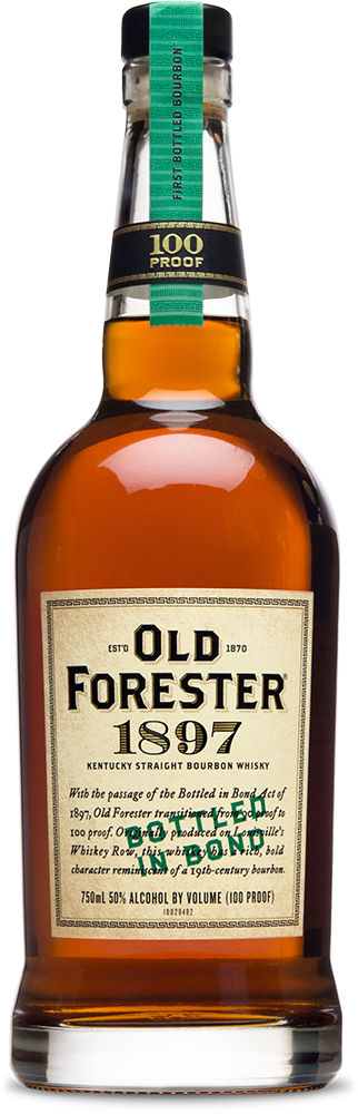 Old Forester 1897  Bottled in Bond 100 Proof