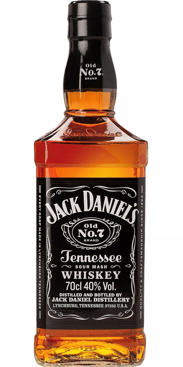 Jack Daniels Old No.7 Tennessee Whiskey - Grapes & Hops Deli
