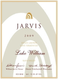 Jarvis Lake William 2009 Cabernet Sauvignon Napa Valley - Grapes & Hops Deli