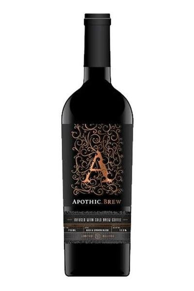Apothic Brew Red Wine Infused With Cold Brew Coffee Limited - Grapes & Hops Deli