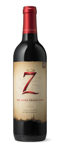 7 Deadly Zins 2013 Lodi Old Vine Zinfandel - Grapes & Hops Deli