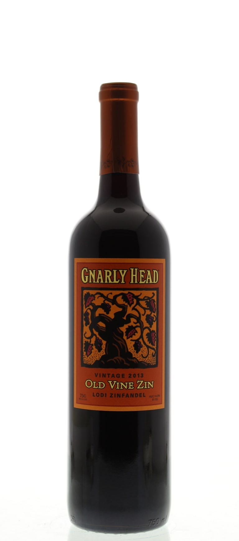 Gnarly Head 2013 Lodi Old Vine Zinfandel - Grapes & Hops Deli
