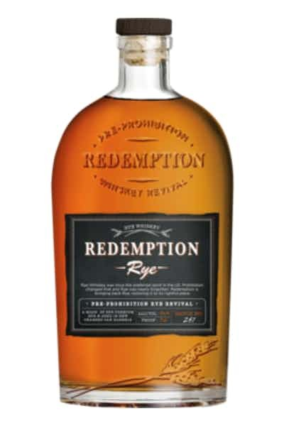 Redemption Rye Whiskey - Grapes & Hops Deli