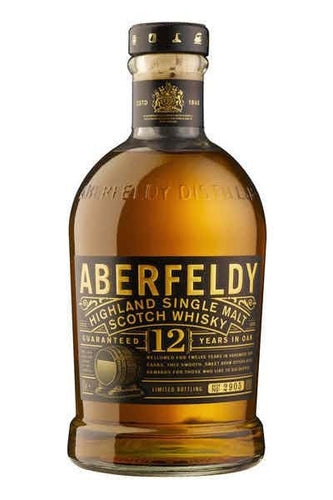 Aberfeldy 12 Year Scotch Whisky - Grapes & Hops Deli