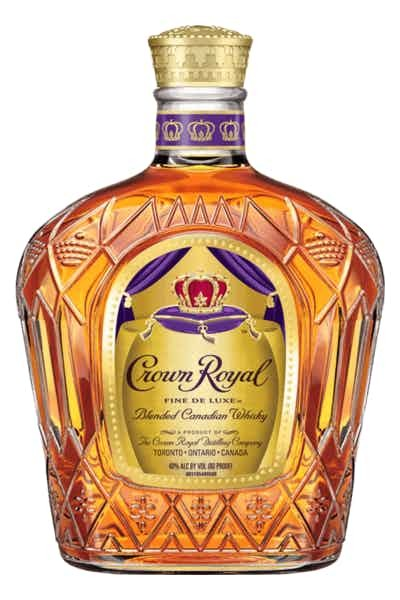 Crown Royal Fine De Luxe Whiskey - Grapes & Hops Deli