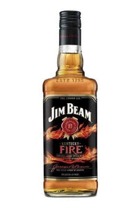 Jim Beam Kentucky Fire Straight Bourbon Whiskey - Grapes & Hops Deli