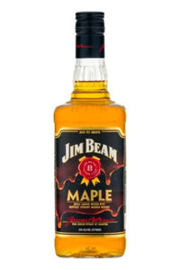 Jim Beam Maple Kentucky Straight Bourbon Whiskey - Grapes & Hops Deli