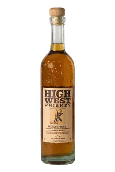High West Whiskey American Prairie Blend of Straight Bourbons - Grapes & Hops Deli