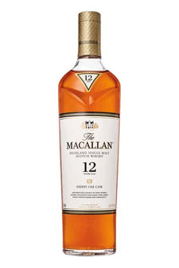 Macallan Scotch Whiskey 12 Years Sherry Oak - Grapes & Hops Deli