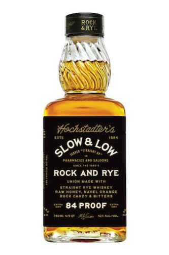 Slow & Low  Rock and Rye Whiskey - Grapes & Hops Deli