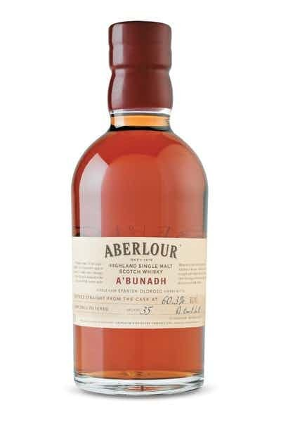Aberlour A'Bunadh Scotch Whisky Sherry Butts - Grapes & Hops Deli