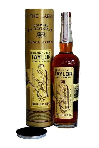 Colonel E. H. Taylor Single Barrel Kentucky Straight Bourbon Whiskey - Grapes & Hops Deli