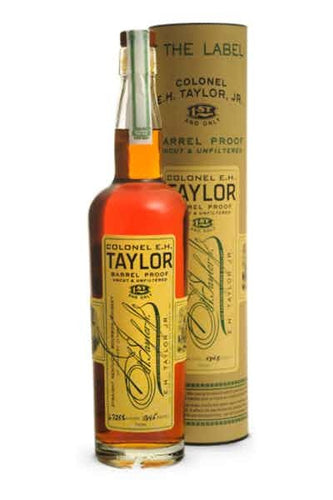 Colonel E.H. Taylor Barrel Proof Straight Kentucky Bourbon Whiskey - Grapes & Hops Deli