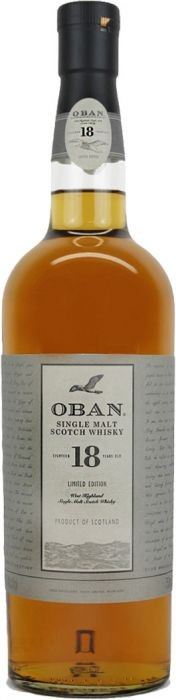 Oban Single Malt Scotch Whisky 18 Years - Grapes & Hops Deli